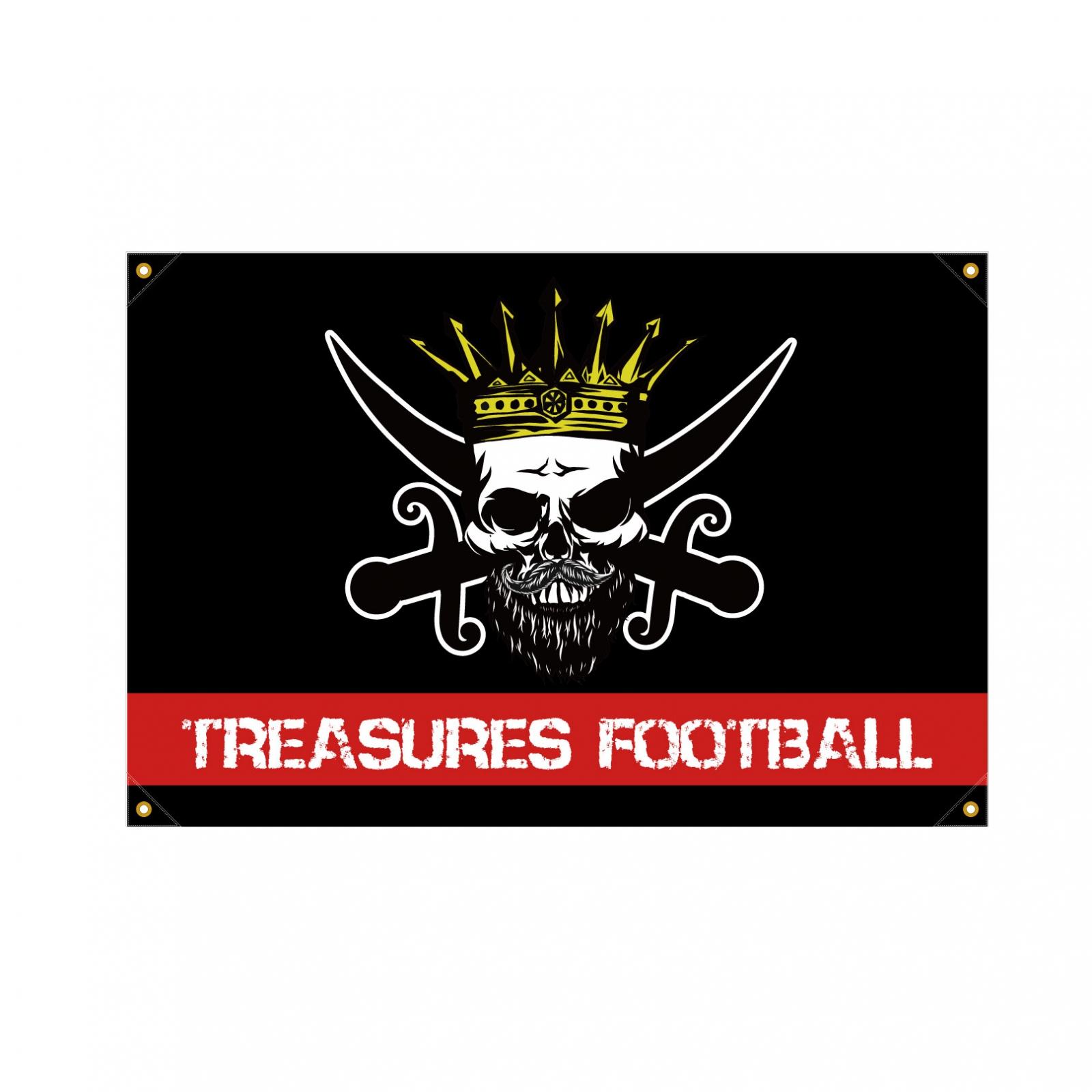 アメリカンフットボール部のクラブ旗