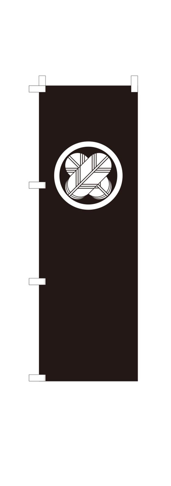 家紋のミニのぼり旗